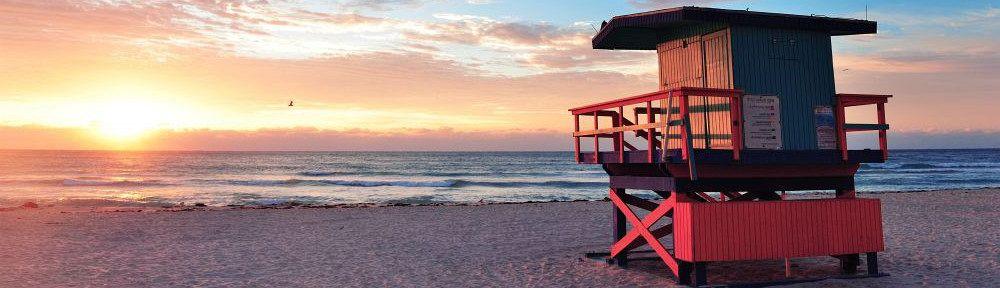 Sonnenuntergang Miami Beach
